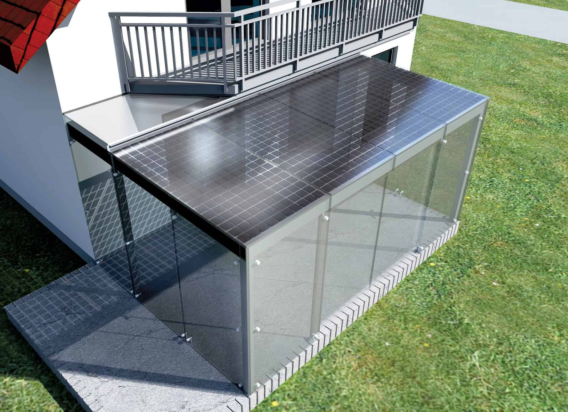 Concept / PV patio shelter