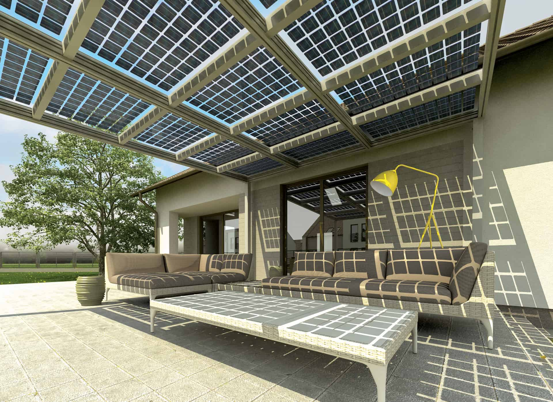 Concept / PV patio canopy