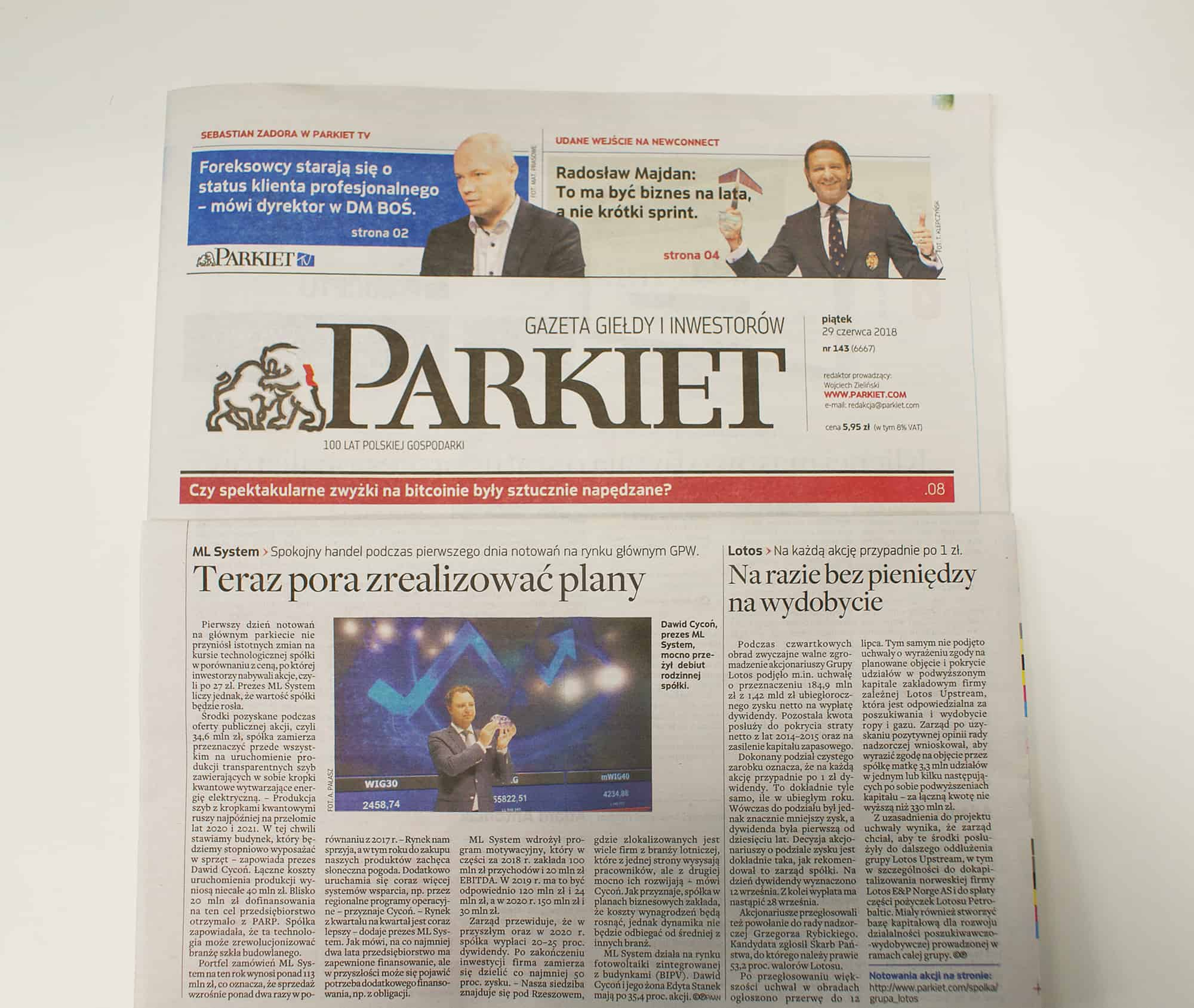 Gazeta-Parkiet-Artykul-MLSystem