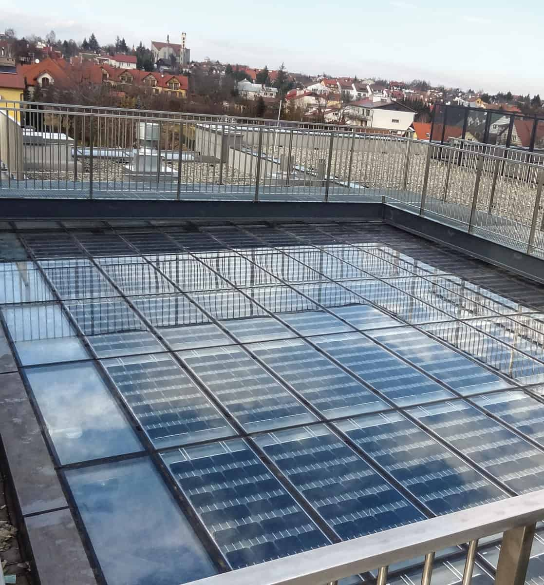 Rzeszów / National Archives / NoFrost modules installed in a skylight