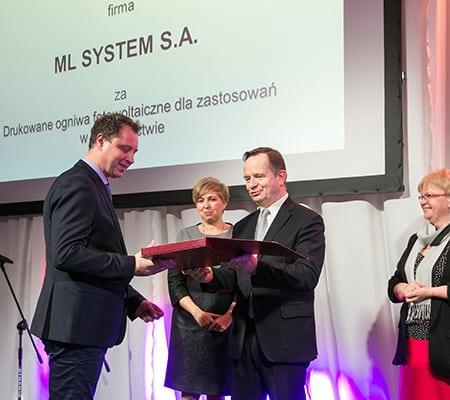 Innowator Podkarpacia nagroda dla ML System