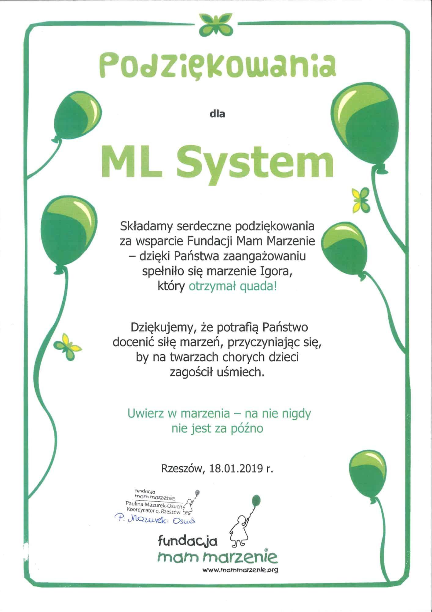 MLSystem-Dyplom-Spelnienie-Marzen-Igora