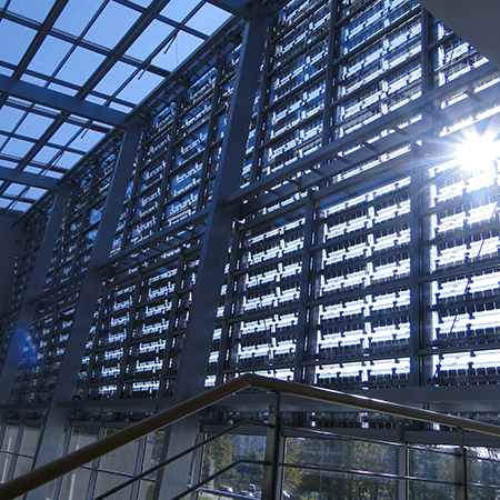 Photovoltaic Sunshades ML Lamela